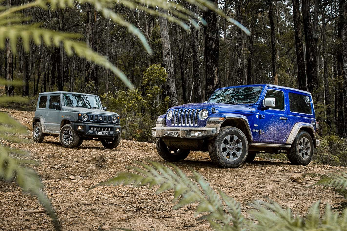 Suzuki Jimny Vs Jeep Wrangler Overland 2019 Comparison
