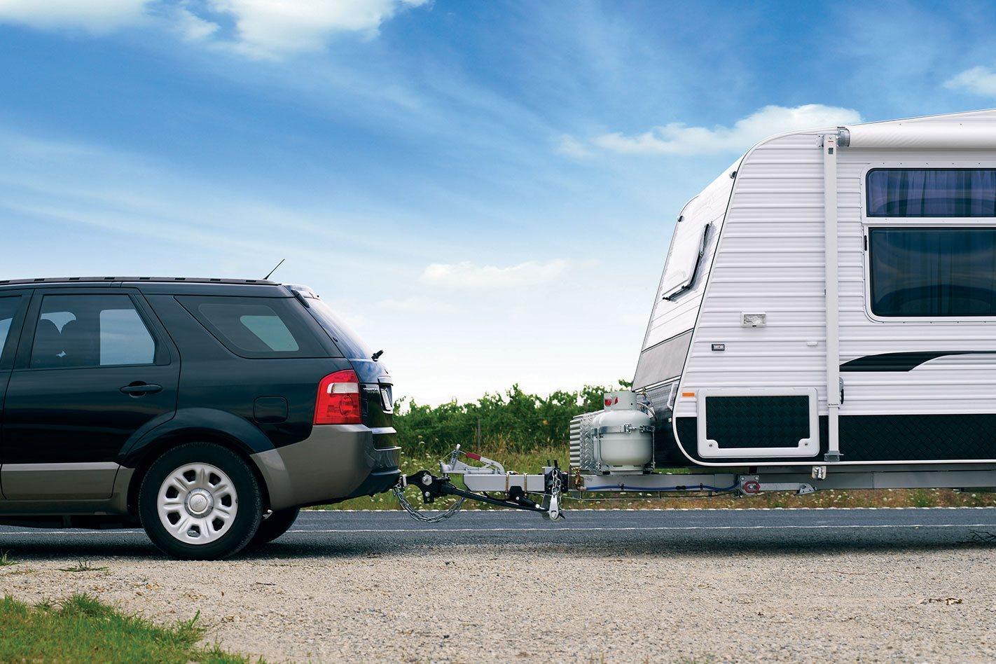 Ford Territory caravan