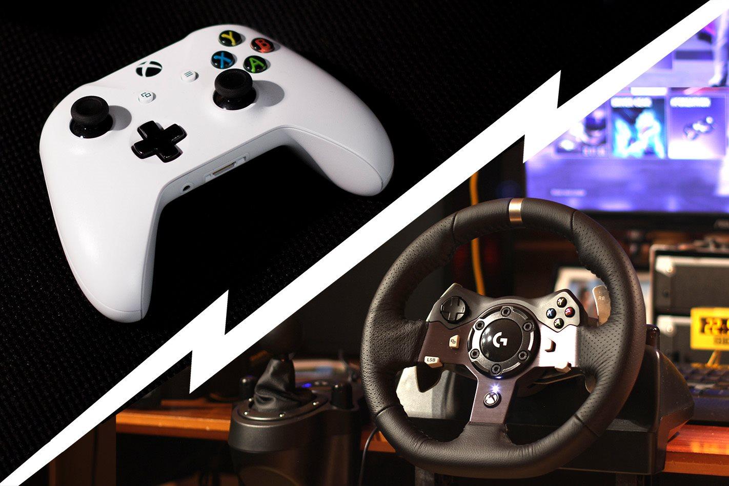 Gamepad Versus Gaming Wheel What Ll Make You Win
