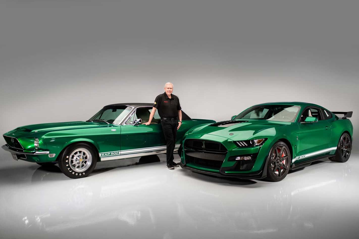 This is the first 2020 Ford Mustang Shelby GT500