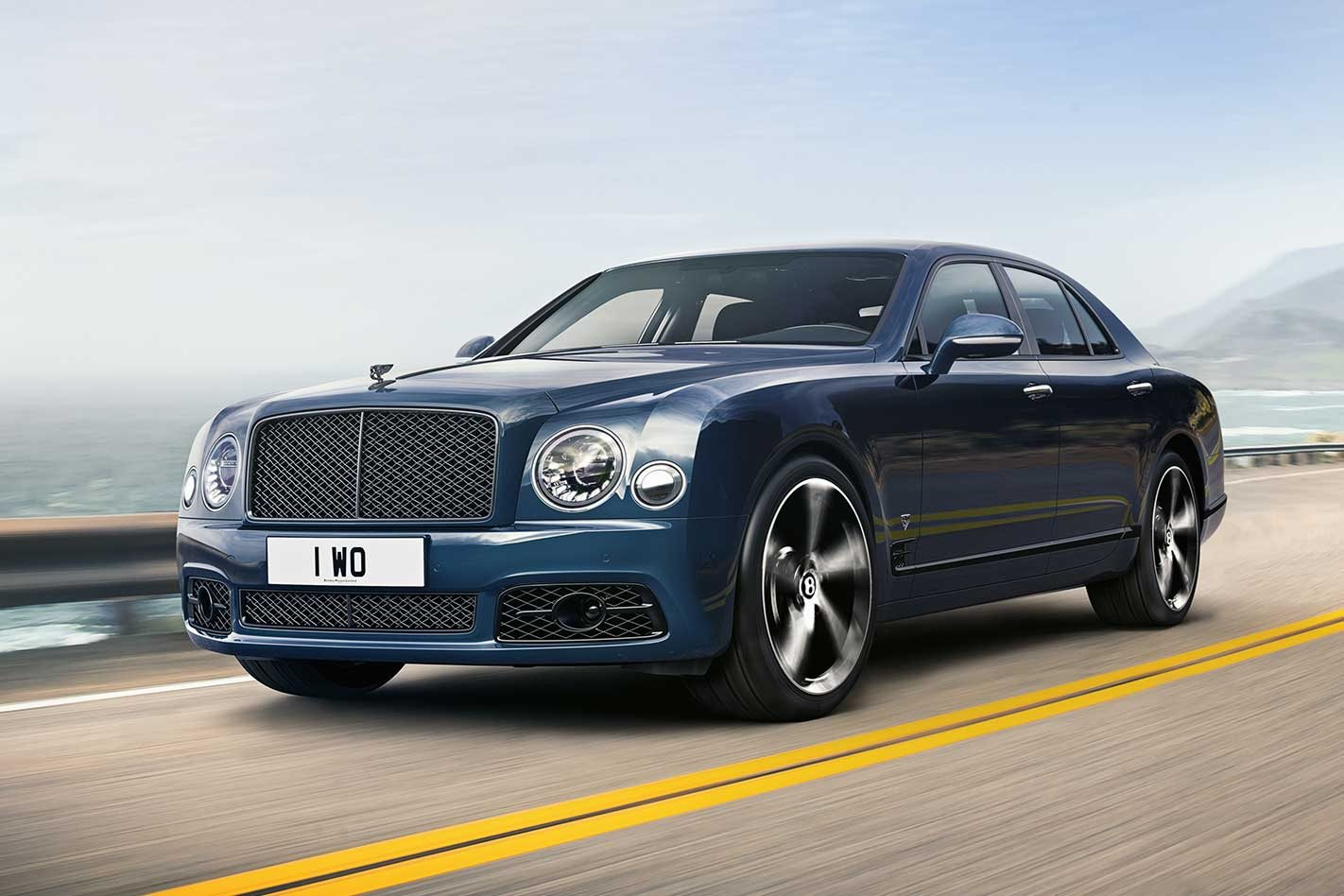 Bentley Mulsanne 6.75 Edition farewells flagship and Rolls-Royce V8