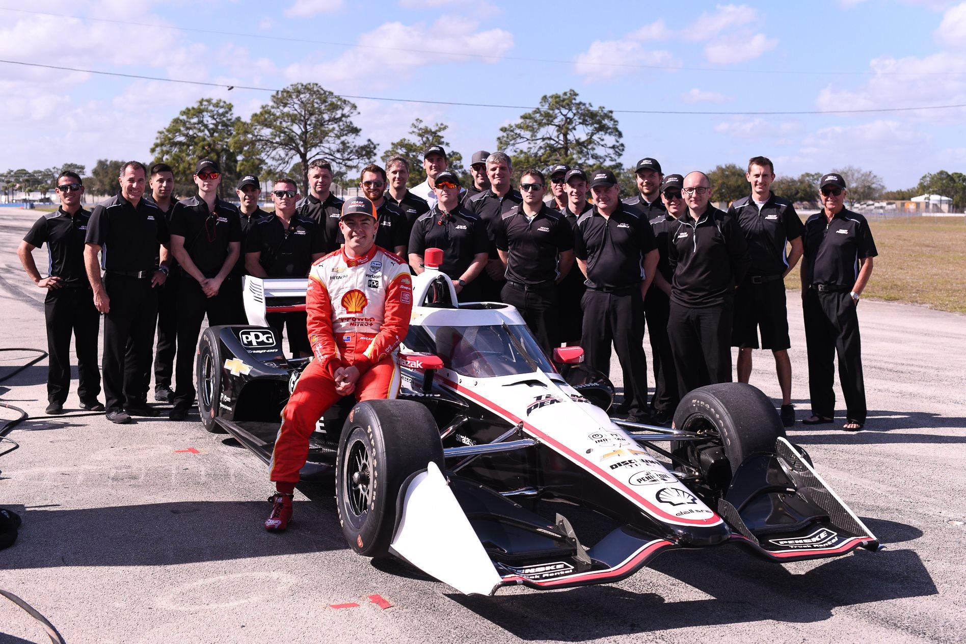 Video: Scott McLaughlin completes rookie IndyCar test