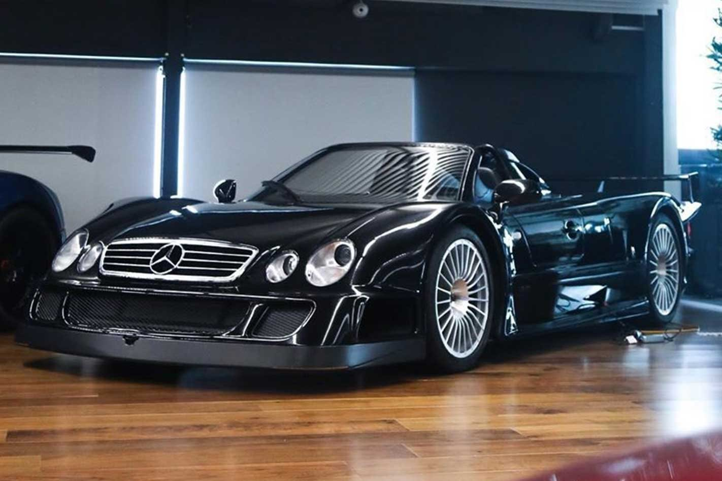 The only black Mercedes CLK GTR Roadster is in Melbourne
