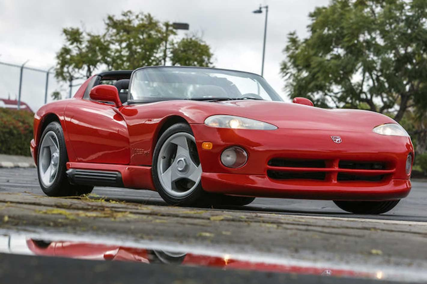 Lee Iacocca's Dodge Viper, VIN 001, sells at auction