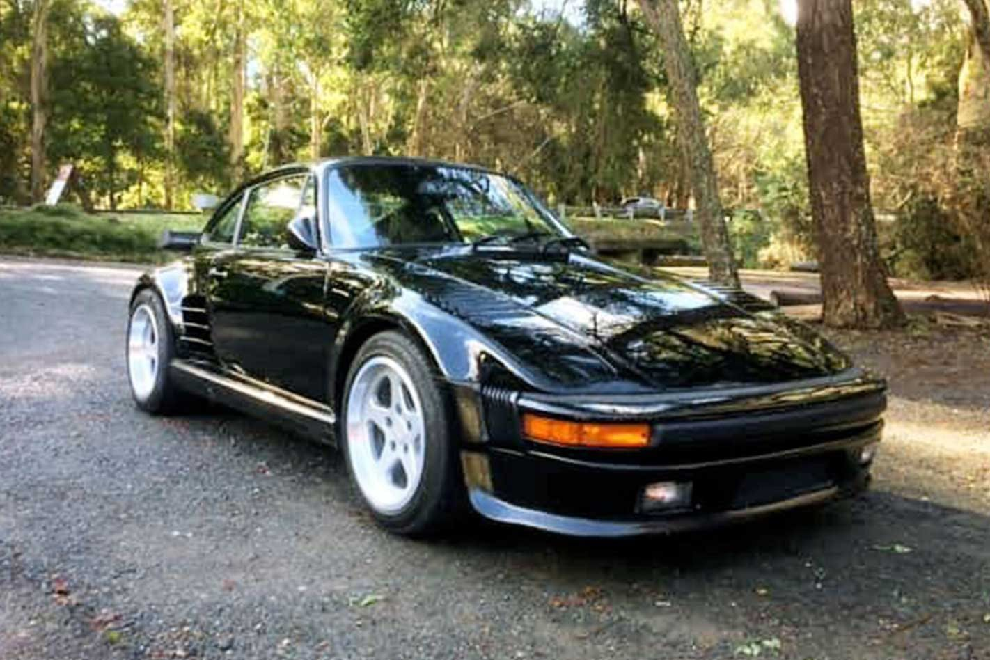 Rare RUF BTR Flatnose appears for sale in Australia