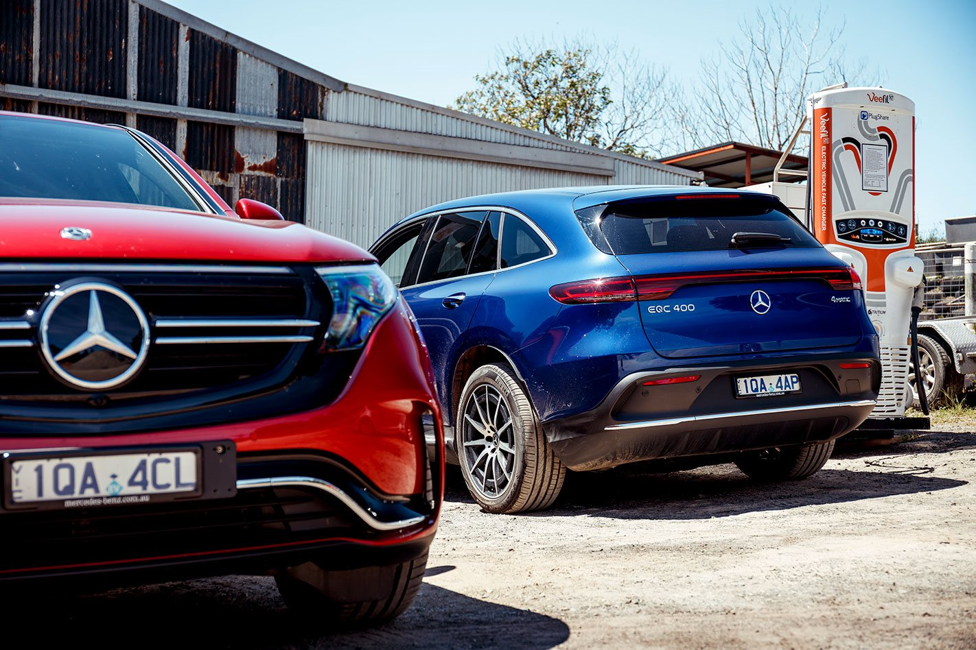 Meet the COTY 2020 finalists: Mercedes-Benz EQC