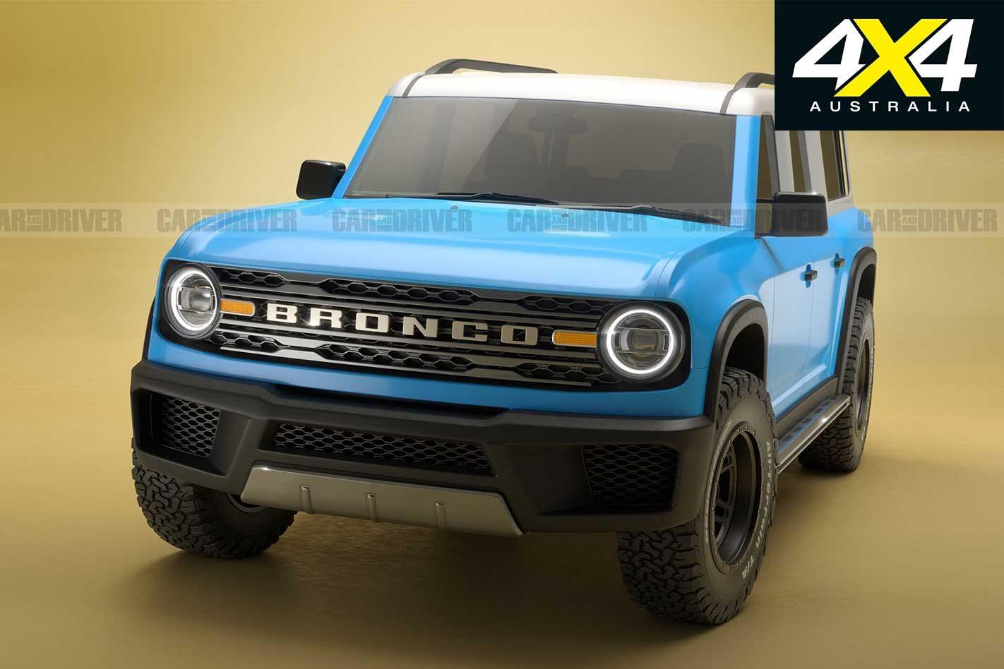 Latest Renderings Provide Best Look Yet At 2021 Ford Bronco