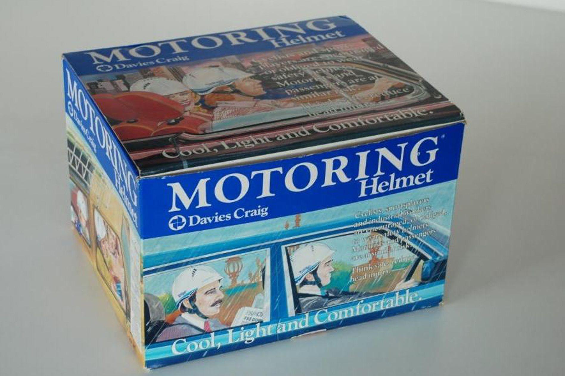 1980s Aussie innovation: the passenger car helmet