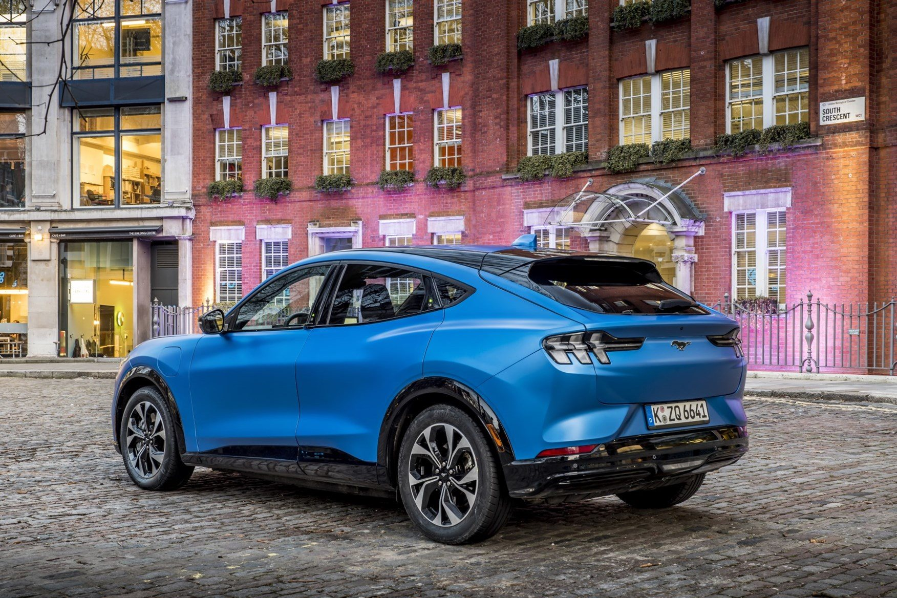 Ford Mustang Mach-E first ride review: on the road in London