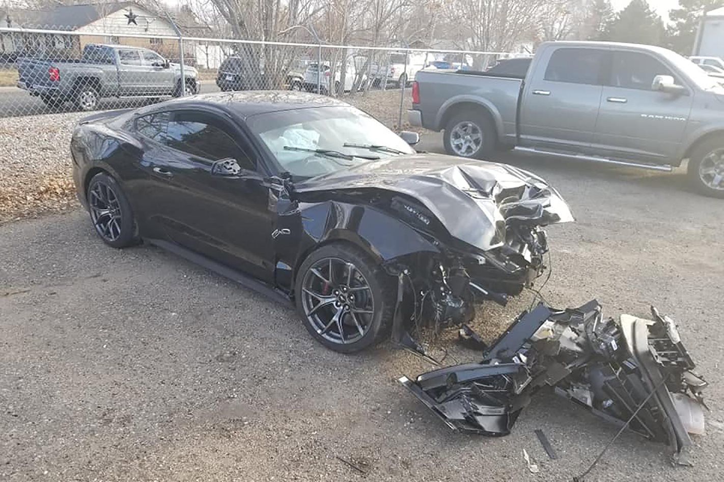 Dealership crashes customer's supercharged Mustang