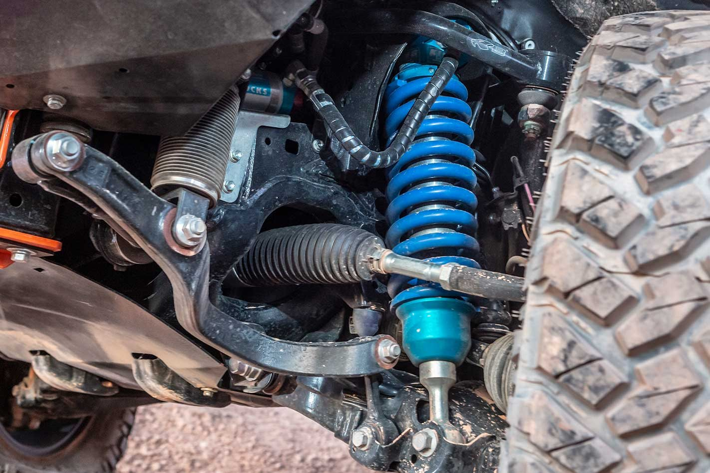 4x4 suspension is equally as important on-road as off-road