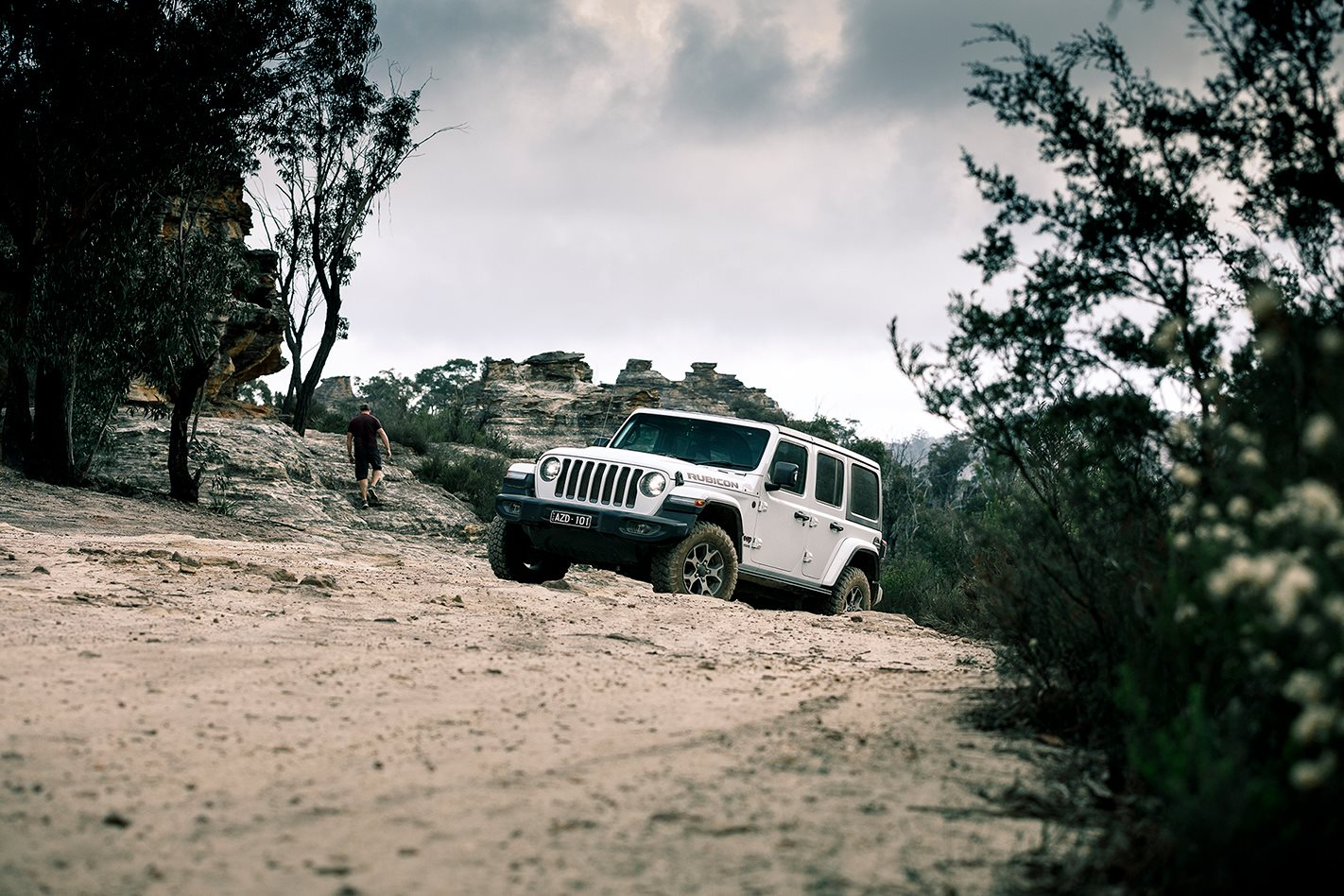 Going in search of the Lithgow Panther in a Jeep Wrangler Rubicon