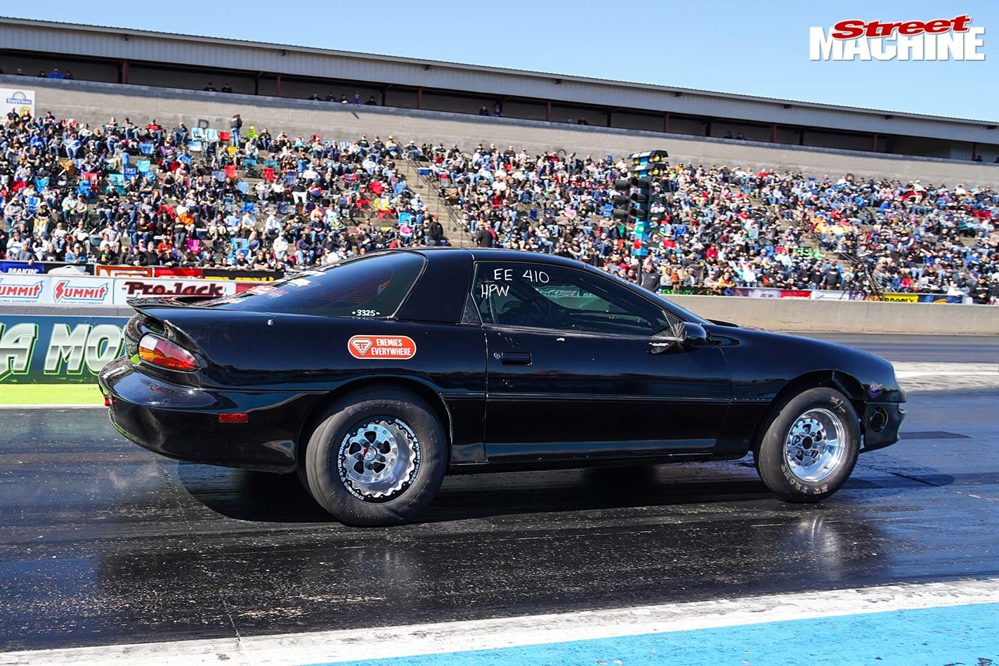 Aussie-built 1998 Camaro wins Horsepower Wars Drag Shootout