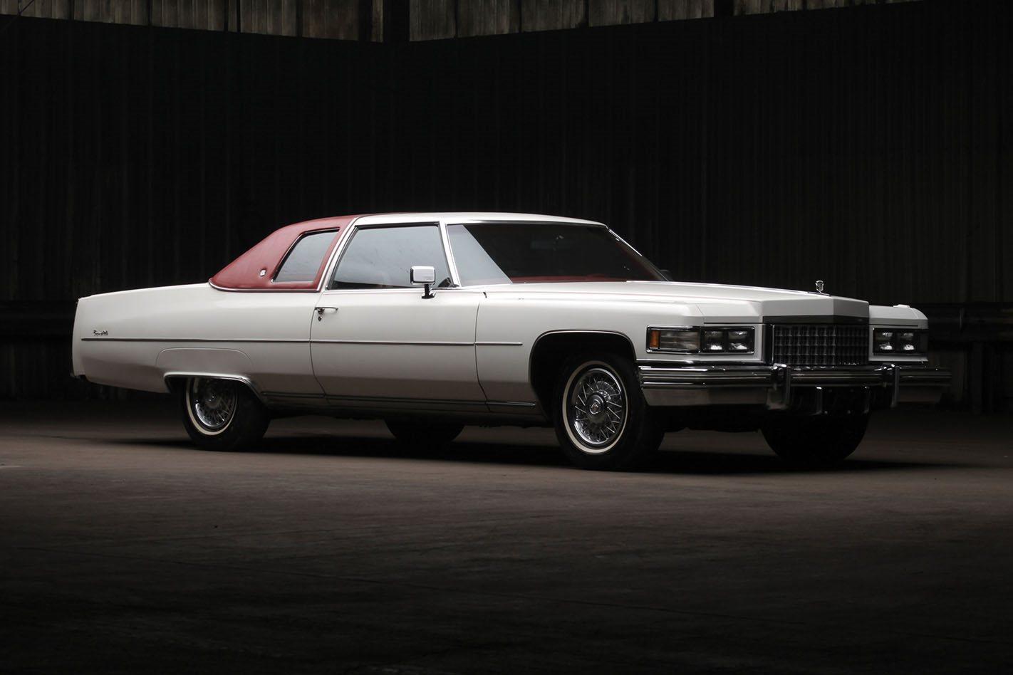 Retro: 1976 Cadillac Coupe deVille