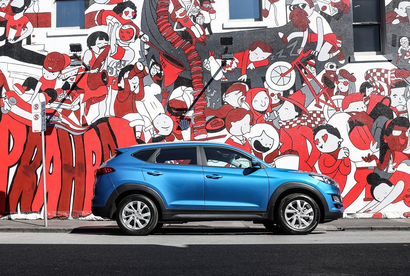 Hyundai Tucson Blue