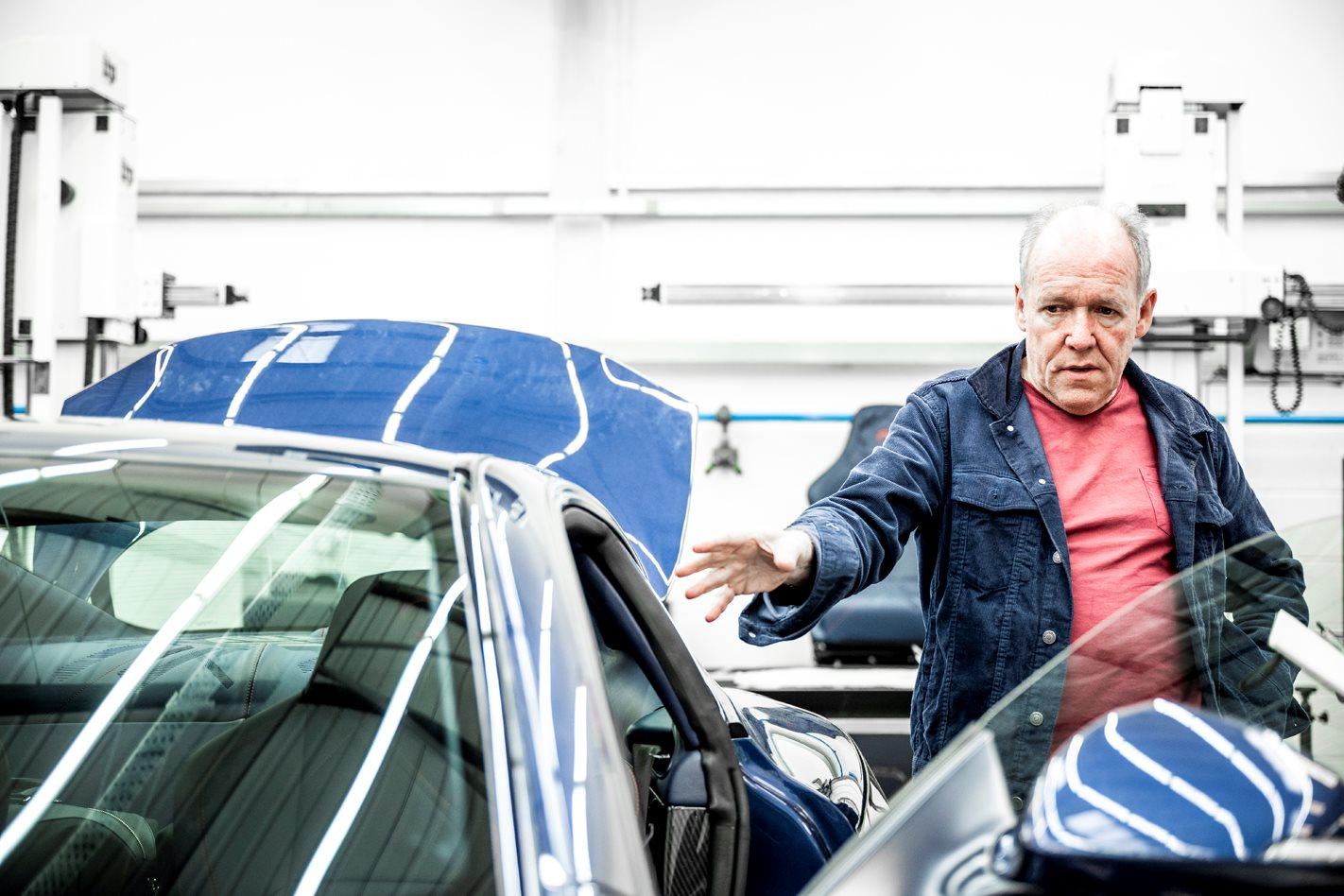 Ian Callum's seven-step guide to car design