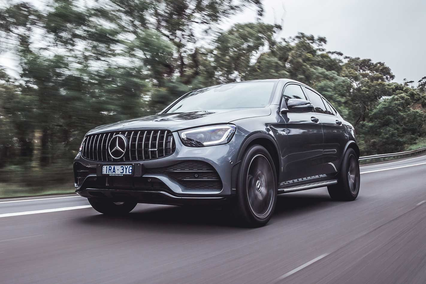 Mercedes-AMG GLC43 Coupe 2020 review