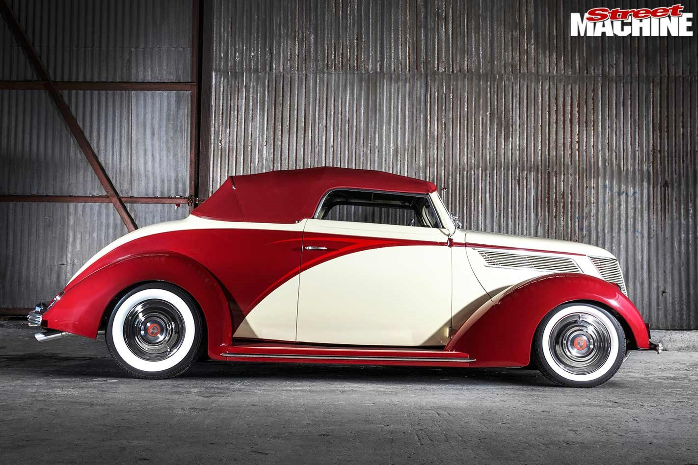 Art Deco Inspired 1937 Ford Cabriolet