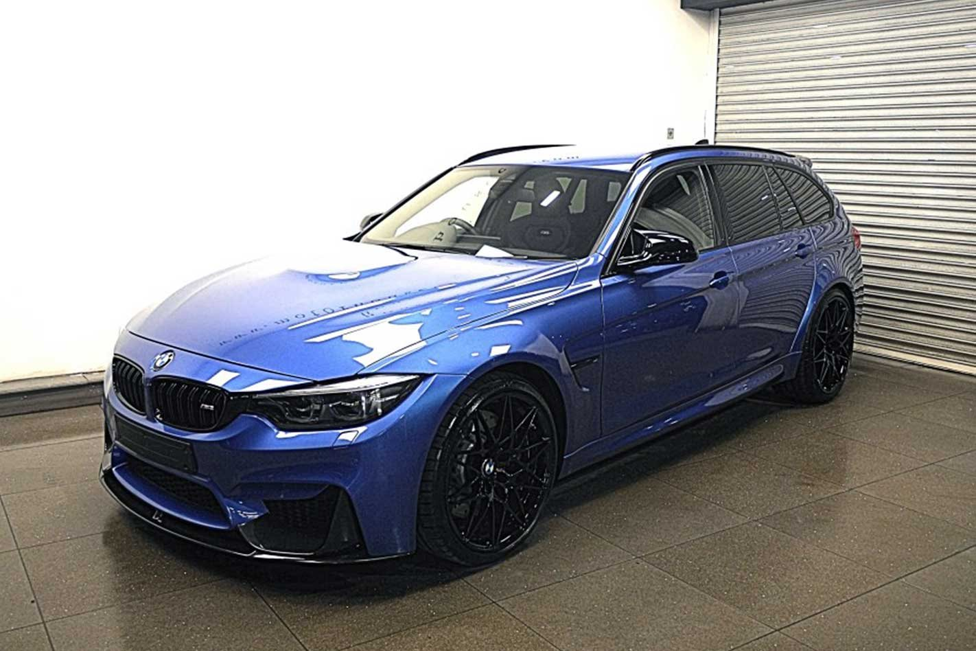 BMW M3 Competition wagon appears online
