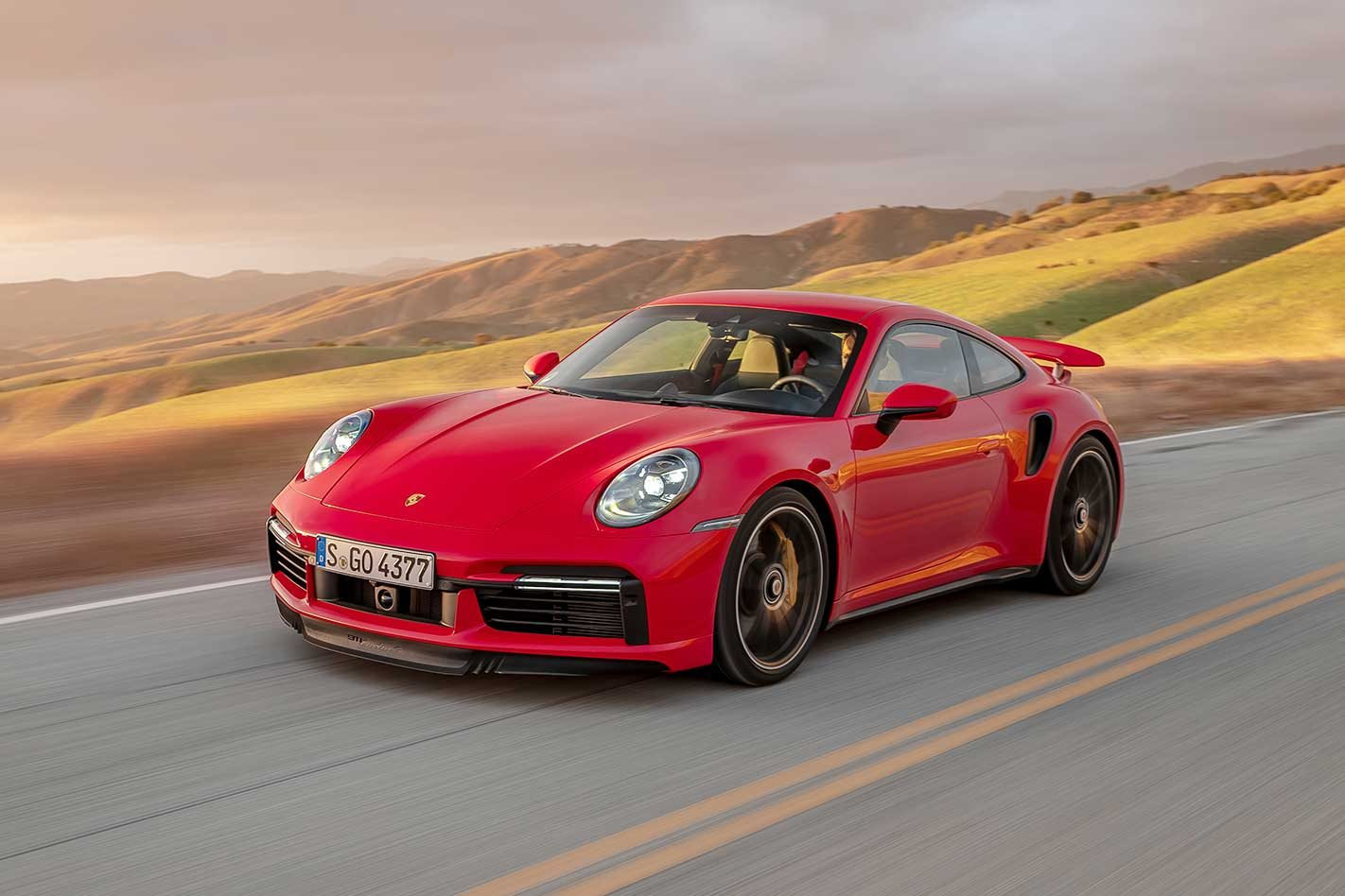 Porsche 992 911 Turbo S 2020 Review