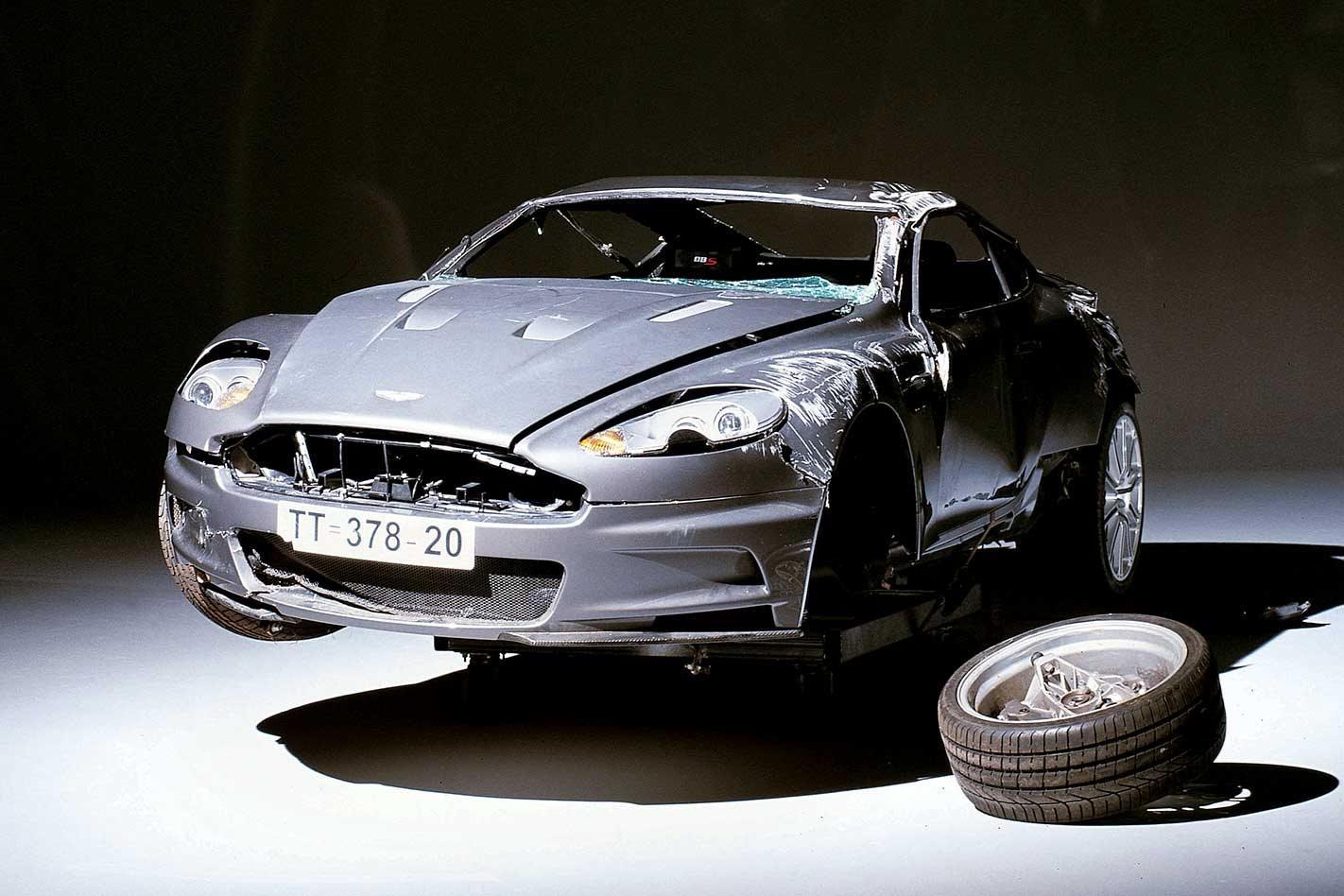 The Aston Martin Dbs Behind The James Bond Casino Royale Stunt