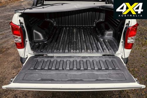 SsangYong Musso tray