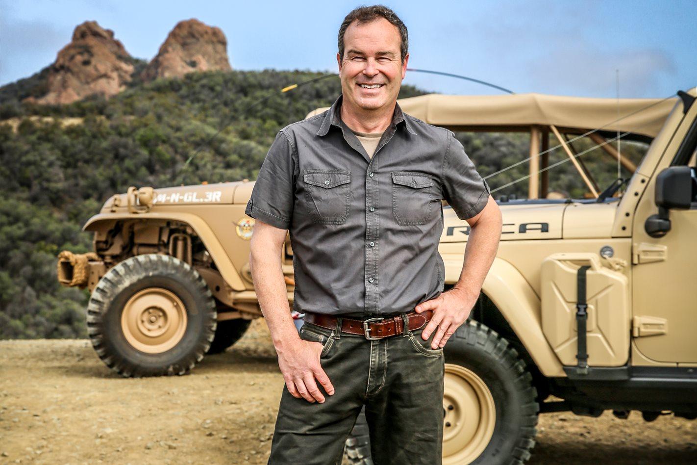 Jeep head of design Mark Allen