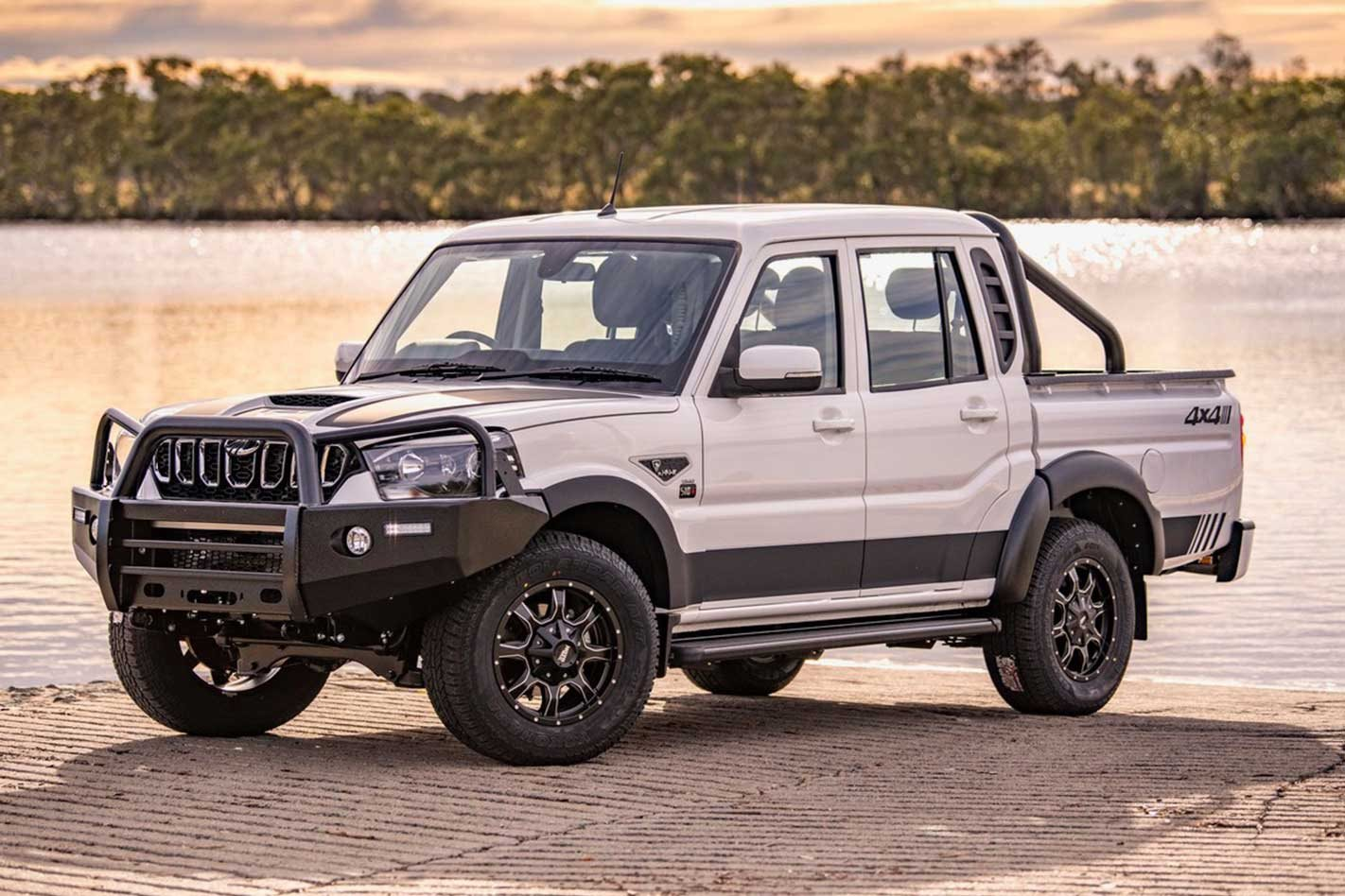 2020 Mahindra Pik-Up Black Edition mHAWK launched