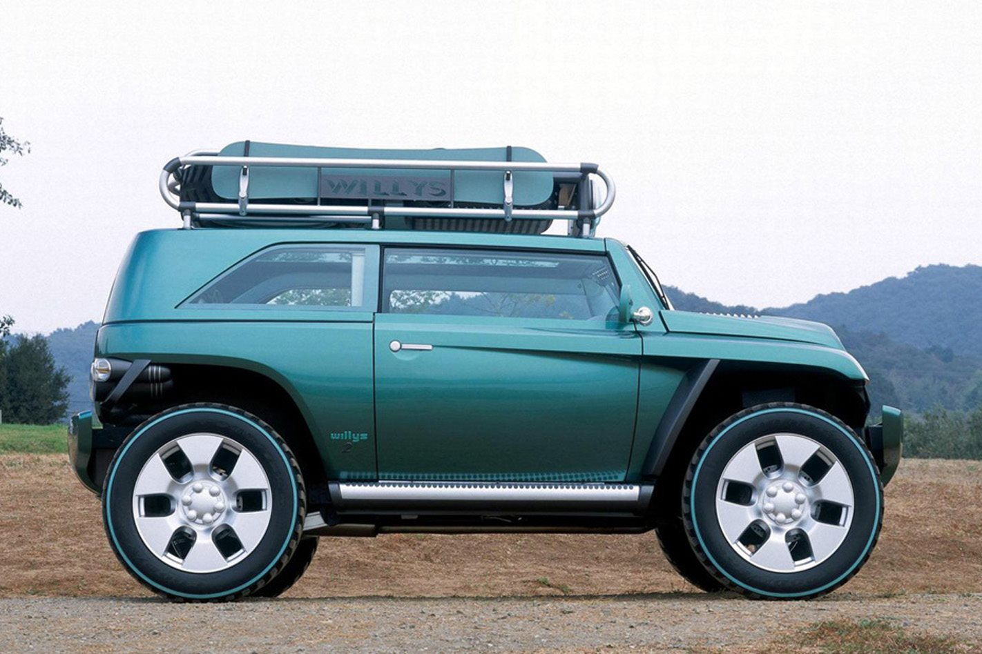 2005 Jeep Willys 2 concept