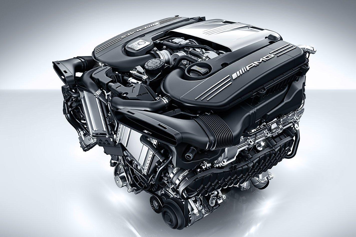 Mercedes-Benz AMG engine