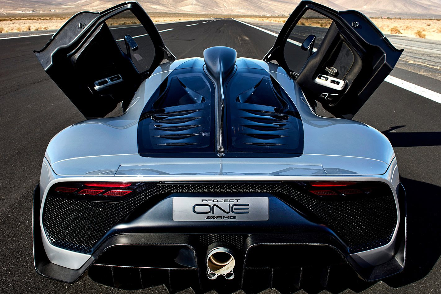 Mercedes-Benz AMG One project rear