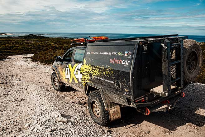 4X4 Australia Ford Ranger in Tasmania