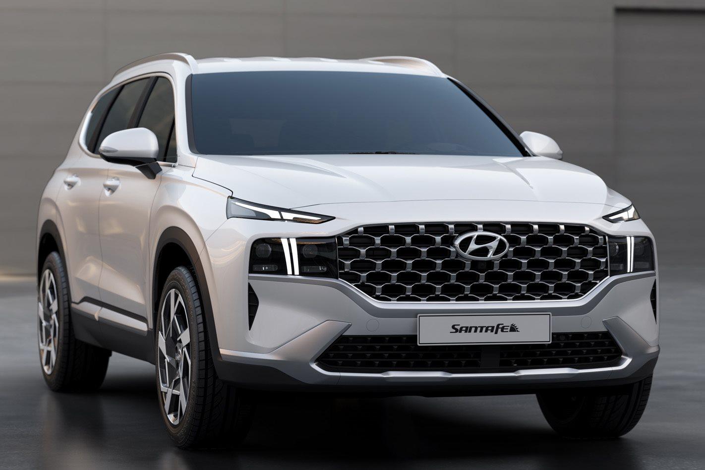 Hyundai Unveils 2021 Santa Fe Large Suv