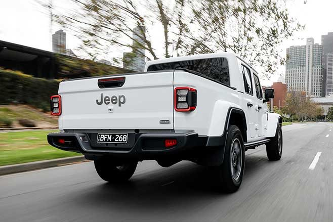 t's here. Jeep JT Gladiator arrive down-under