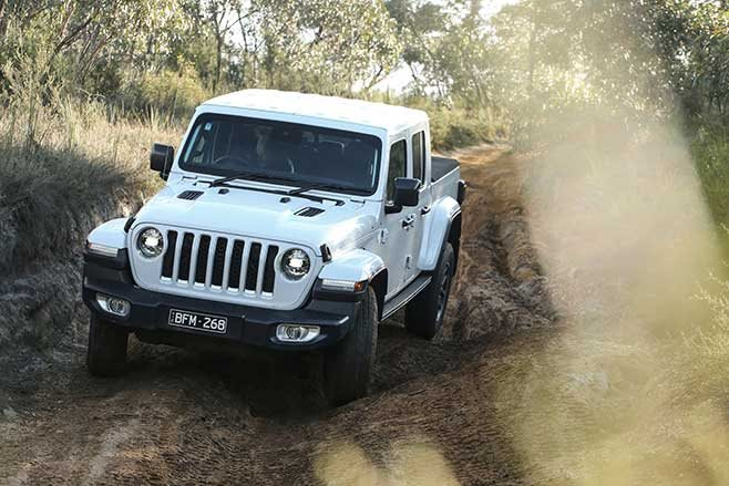 It's a Jeep JT Gladiator
