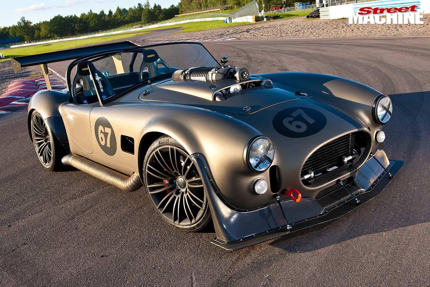 Mercedes-Benz V12-swapped AC Cobra replica