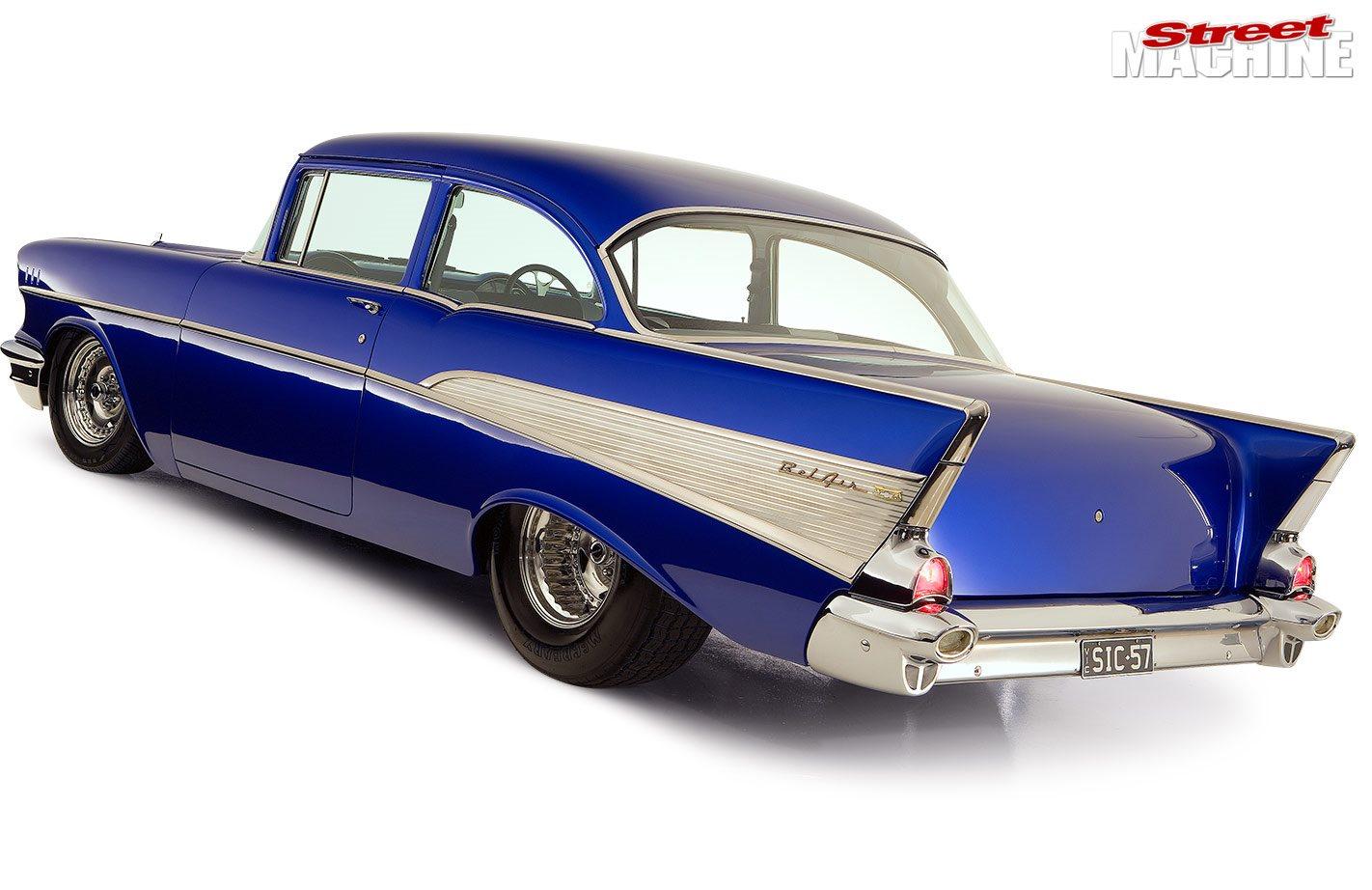 Blown Big Block 1957 Chevrolet Bel Air Two Door