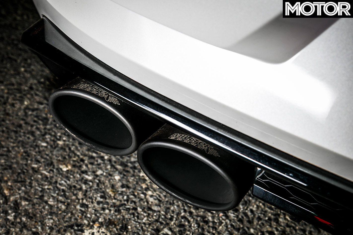 Échappement Volkswagen Golf R