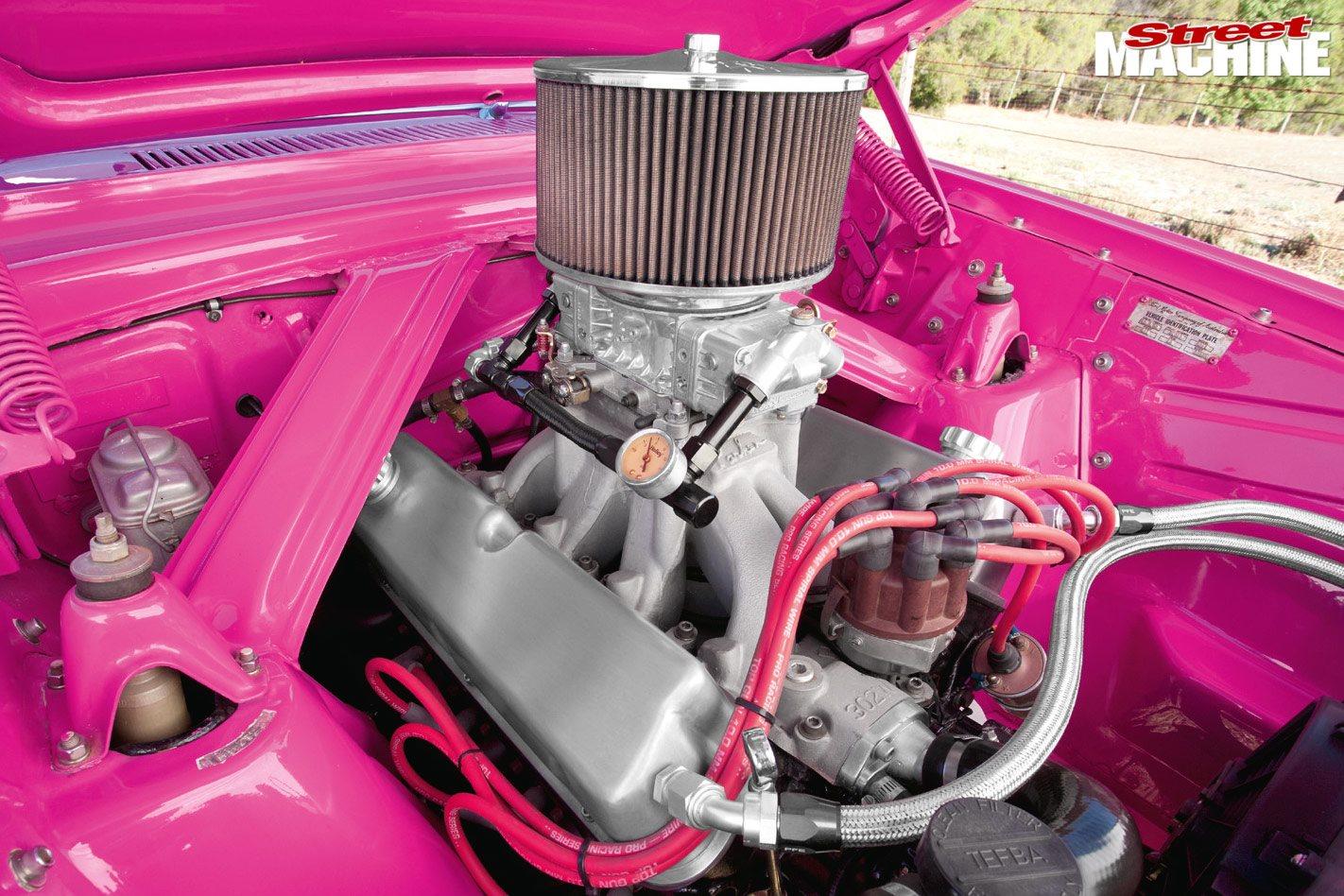 Ford XK Falcon engine bay