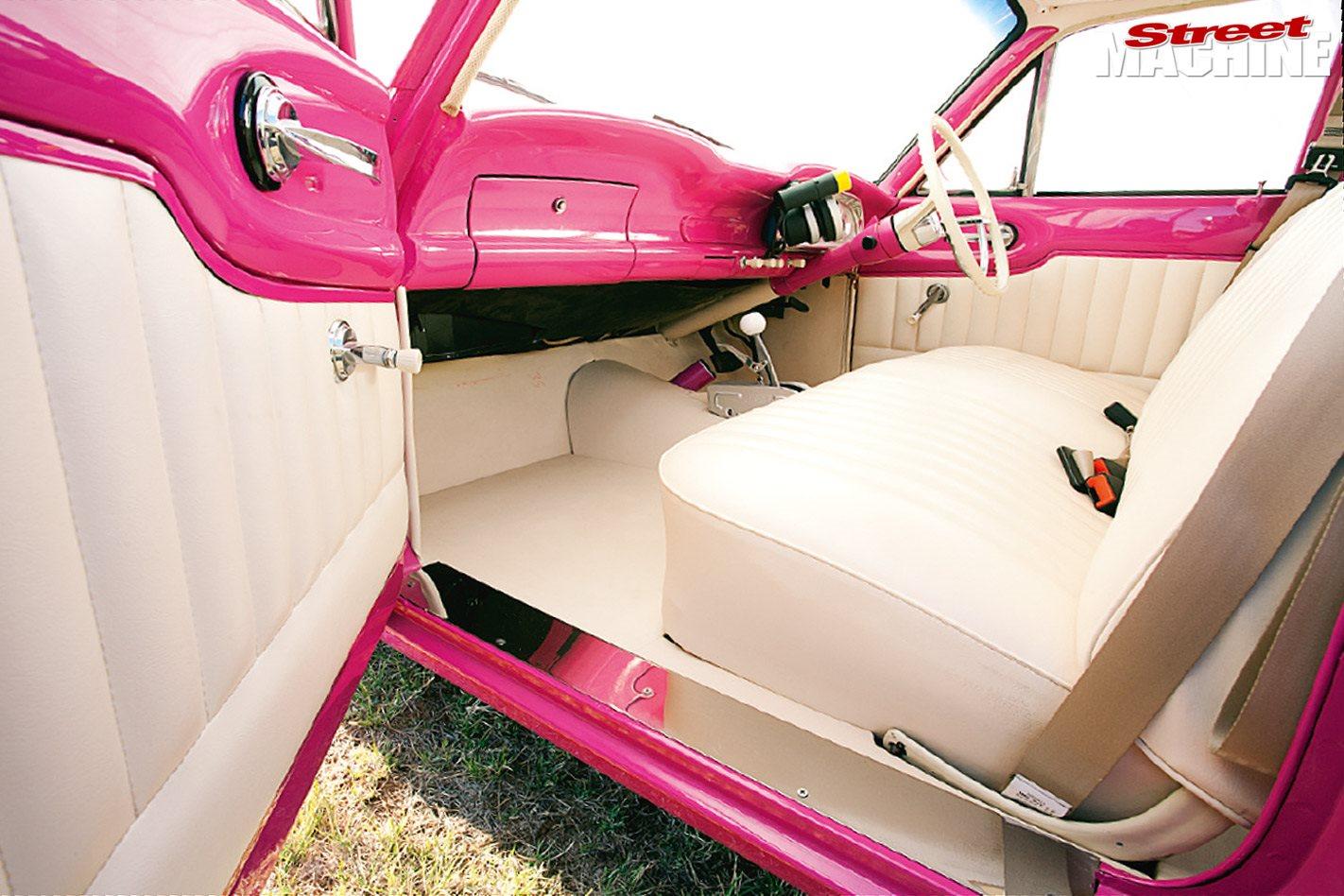 Ford XK Falcon interior