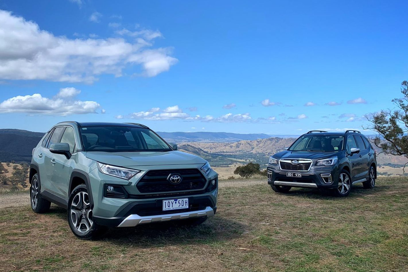 Subaru Forester vs Toyota RAV4