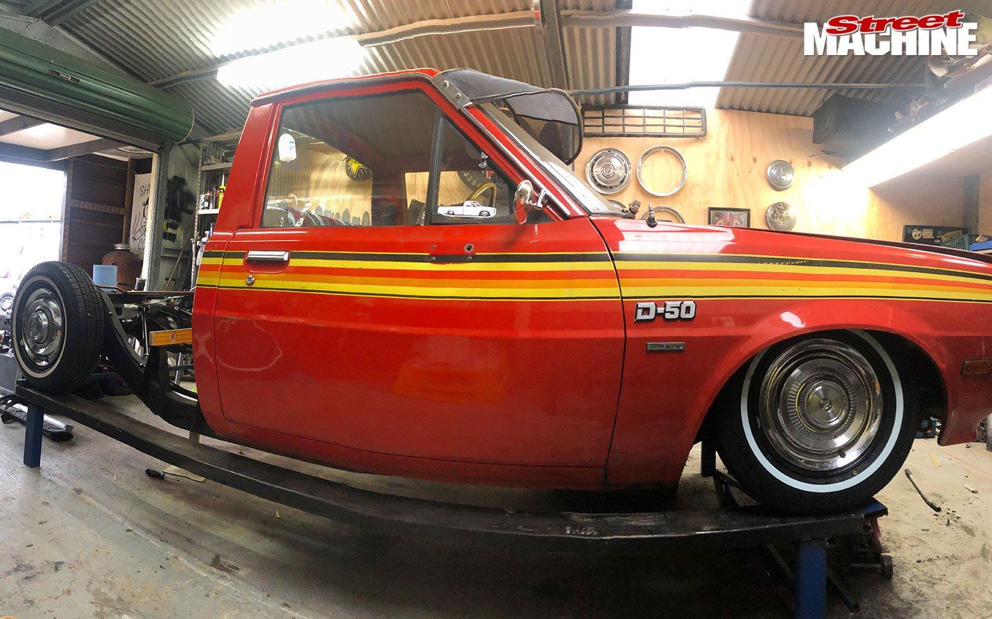 1979 Chrysler D50 build