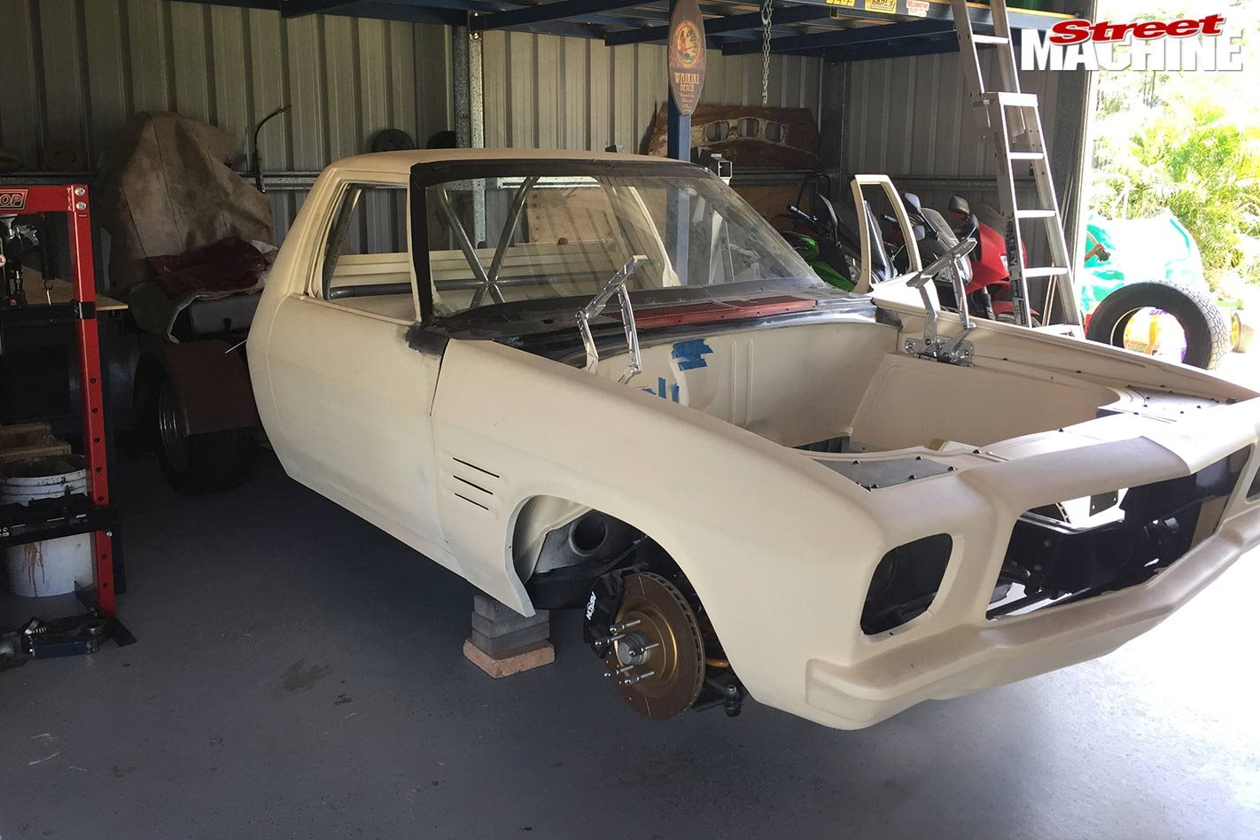 Holden HQ One-Tonner project