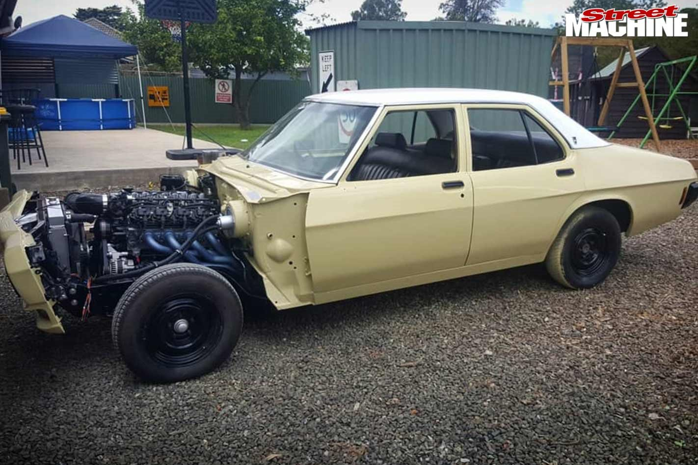 Holden HQ project