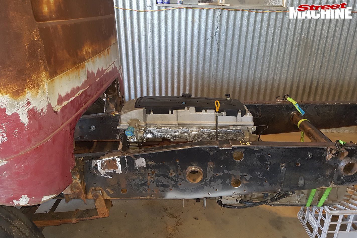 Karrier cabover truck project