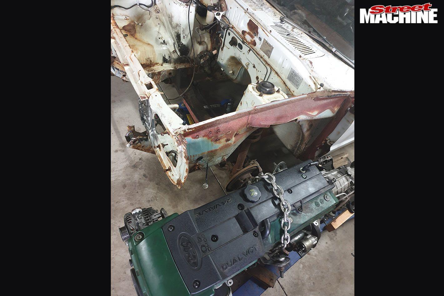 Mazda 808 wagon project