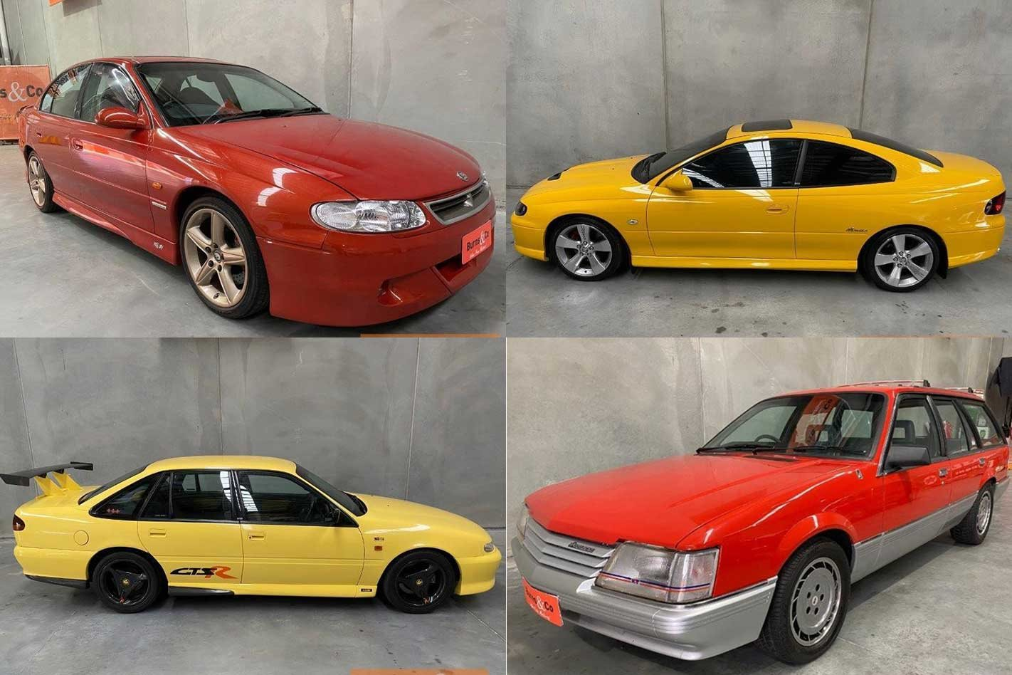 Strong prices for hot Holden V8s