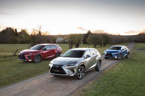 Lexus NX range
