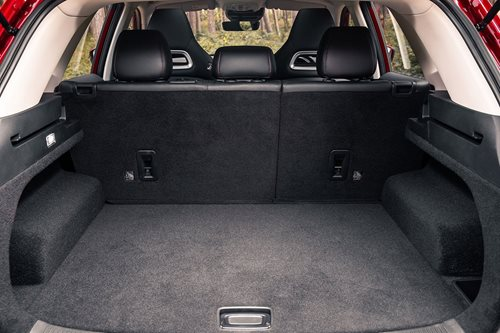 MG HS boot space