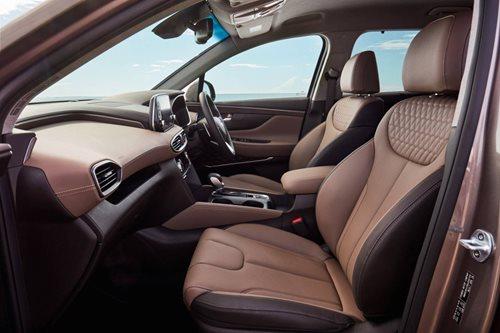 Hyundai Sante Fe Elite interior trim